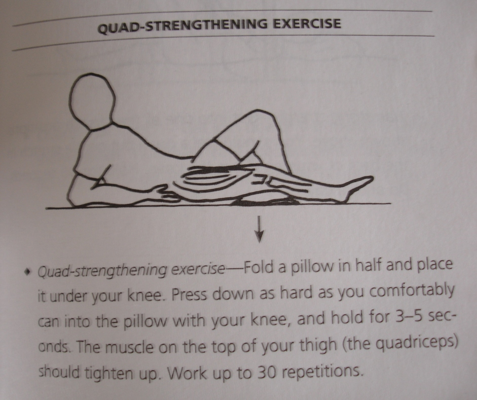 Quad strengthening exercise