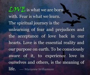 The purpose of life is to love