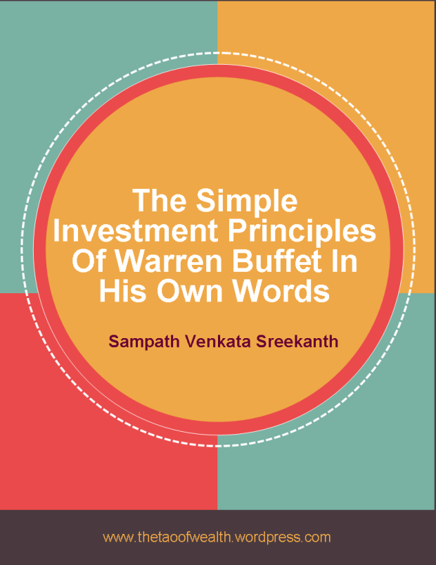 The Simple Investment Principles Of Warren Buffett